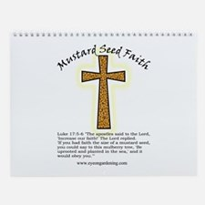 Mustard Seed Faith Wall Calendar