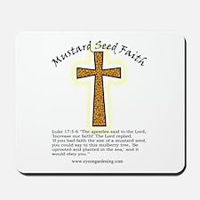 Mustard Seed Faith Mousepad