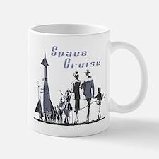 Space Cruise scifi vintage Mug