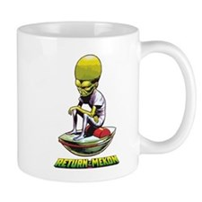 Retrurn of the Mekon scifi vintage Mug