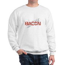 bacon makes me happy Sweatshirt