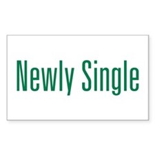 Newly Single Rectangle Decal