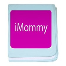 iMommy app button baby blanket