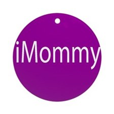 iMommy app button Ornament (Round)