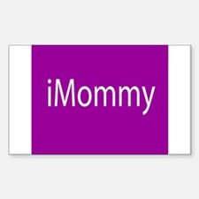iMommy app button Sticker (Rectangle)