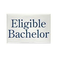 Eligible Bachelor Rectangle Magnet