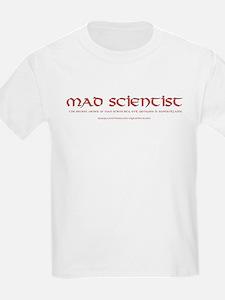 Mad Scientist Kids T-Shirt