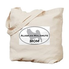Alaskan Malamute MOM Tote Bag