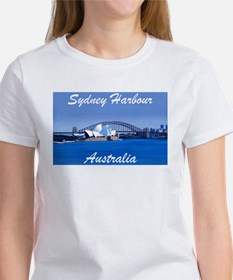 Sydney Harbour Painting Women's T-Shirt