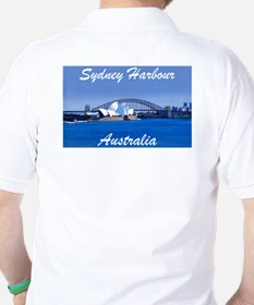 Sydney Harbour Painting T-Shirt