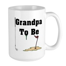 Golf Grandpa To Be Mug