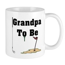 Golf Grandpa To Be Mug