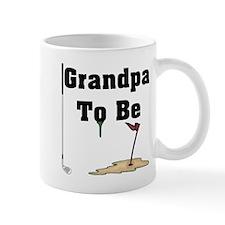 Golf Grandpa To Be Small Mug
