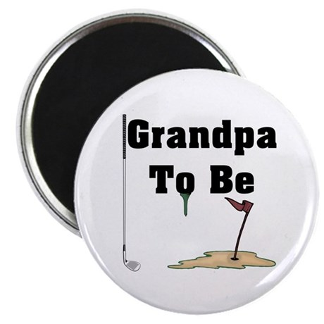 Golf Grandpa To Be Magnet