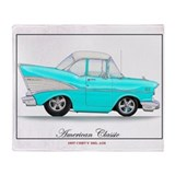 57 chevy Fleece Blankets