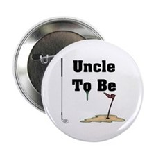 Golf Uncle To Be Button