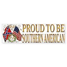 Southern Pride Bumper Bumper Sticker