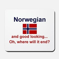 Good Looking Norwegian Mousepad