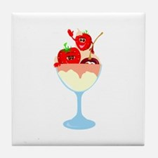 Ice Cream Tile Coaster