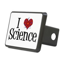 I Love Science Hitch Cover