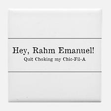 Rahm is Choking What?!? Tile Coaster
