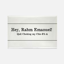 Rahm is Choking What?!? Rectangle Magnet