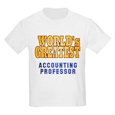 World's Greatest Accounting Professor T-Shirt