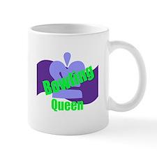 Bowling Queen Small Mug