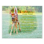 """16x20 Poster """"Baby Deer"""""""