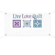 Live Love Quilt Banner