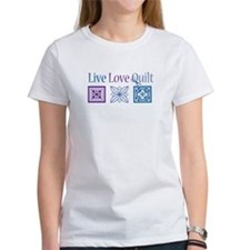 Live Love Quilt Tee