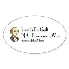 Great Is The Guilt Oval Decal