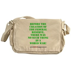 The Federal Reserve and World War Messenger Bag