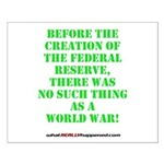 The Federal Reserve and World War Small Poster