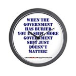 Government buries Wall Clock