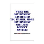 Government buries Mini Poster Print