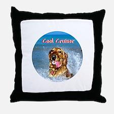 Cool Cruiser Throw Pillow