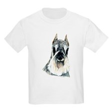 Schnauzer Dog Portrait Kids T-Shirt