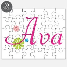 Ava Flowers Puzzle