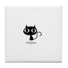 Meow. Tile Coaster