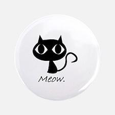 """Meow. 3.5"""" Button"""