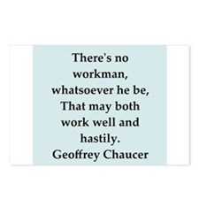 chaucer.png Postcards (Package of 8)