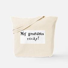 My Grandma Rocks Tote Bag