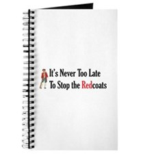 Never Too Late Journal
