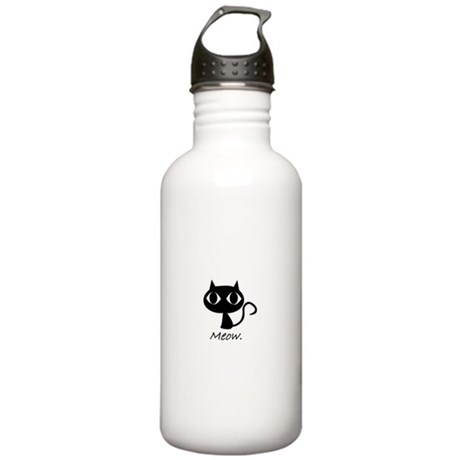 Meow. Stainless Water Bottle 1.0L
