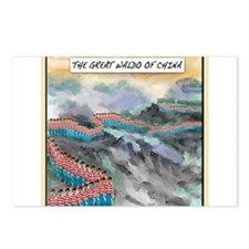 Great Waldo Of China Postcards (Package of 8)
