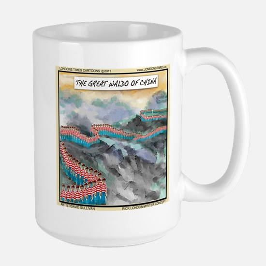 Great Waldo Of China Large Mug