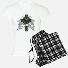 Lamont Tartan Cross Pajamas