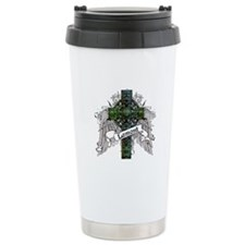 Lamont Tartan Cross Travel Coffee Mug