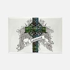 Lamont Tartan Cross Rectangle Magnet